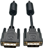 DVI Single Link Cable, Digital TMDS Monitor Cable (DVI-D M/M), 18-in. -- P561-18N - Image