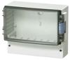 Enclosure, Smoked, Transparent, Hinged Cover -- Cardmaster PC 21/18-3 - Image