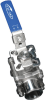 Sanitary Direct Mount Ball Valve -- EA-33-NF-SN