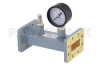 WR-137 Waveguide Pressurizing Section 4.25 Inch Length, CPR-137G Grooved Flange from 5.85 GHz to 8.2 GHz -- PEWSP1012 - Image