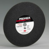 Foundry Premier Red Reinforced Zirconia Alumina Abrasive -- Cut-off Wheels
