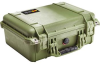 Pelican 1450 Case - No Foam - Olive Drab | SPECIAL PRICE IN CART -- PEL-1450-001-130 -Image