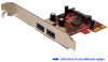 Dual Channel SuperSpeed USB 3.0 PCI Expres&#8230 -- PEU230