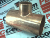 PIPE FITTING COPPER TEE 2-5/8X2-5/8X1-3/8IN OD -- 33076