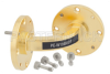 WR-19 Instrumentation Grade Waveguide E-Bend with UG-383/U-Mod Flange Operating from 40 GHz to 60 GHz -- PE-W19B001 - Image