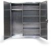 Stainless Steel Wardrobe Cabinet -- 36-W-245-SS - Image
