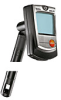 testo 605-H1: Digital psychrometer with duct holder, incl. belt clip and battery -- 0560 6053