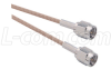 RG316 Coaxial Cable, SMA Male / Male, 8 in -- CCS316-08