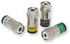 RF Broadband Coaxial Connectors -- UltraEase Compression Connectors - Image