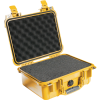 Pelican 1400 Case with Foam - Yellow   SPECIAL PRICE IN CART -- PEL-1400-000-240 -Image