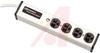 Power Strip, Medical/Dental Grade Muliple Portable Socket Outlets, 4 outlets -- 70091549