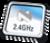 2.4 GHZ RF SoC -- nRF24LE1