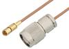 SSMC Plug to TNC Male Cable 18 Inch Length Using RG178 Coax -- PE3C4401-18 -Image