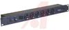 Powerstrip; 6 Outlets (Front); Rack Mount; 20A; 120VAC; Len: 19