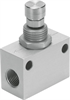 GR-1/8-B One-way flow control valve -- 151215 -- View Larger Image