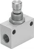 GR-1/8-B One-way flow control valve -- 151215