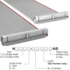 Rectangular Cable Assemblies -- H3DDH-5036G-ND -- View Larger Image