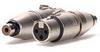 Neutrik Na2Fpmf/W XLR Jack To RCA Jack -- 10-01111