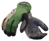 Mechanics Gloves,Black/Green,XL,PR -- 13W915