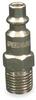 Plug,Industrial,1/4 MNPT,1/4 Body -- 2VDH5