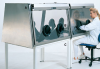 Full View Stainless Steel Glovebox -- Series 500