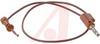 Plunger; Plug; Beryllium Copper; Gold; PVC; #20 AWG; 41 x 36; 105 degC; Red -- 70188638