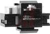 Jack; Copper Alloy; Panel Mount; 8; AMP-Barrel; Black; Thermoplastic; 26-22 AWG -- 70085081