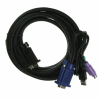 KVM Switches (Keyboard Video Mouse) - Cables -- AE10407-ND - Image