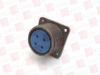 AMPHENOL MS3102A20-4S ( CIRCULAR CONNECTOR, RECEPTACLE, SIZE 20, 4 POSITION, BOX; MILITARY SPECIFICATION:MIL-DTL-5015 SERIES; CIRCULAR CONNECTOR SHELL STYLE:BOX MOUNT RECEPTA ) -Image