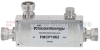 7/16 DIN Directional Coupler 10 dB Coupled Port From 698 MHz to 2.7 GHz Rated To 200 Watts -- FMCP1062 -Image