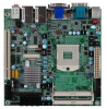CP100-NRM Mini-ITX Motherboard with Mobile Intel QM57 Express Chipset for 1st Generation Intel Core i3 / i5 / i7 Mobile Processors -- 2808267 - Image