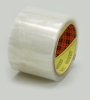 3M Scotch 371 Box Sealing Tape Transparent 72 mm x 100 m Roll -- 371 72MM X 100M TRANS -Image