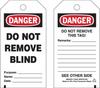 Brady Equipment Safety Tag - 132425 -- 754473-84513