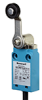 MICRO SWITCH NGC Series Global Limit Switch: metal housing, side rotary with standard fixed length lever and 18 mm nylon roller, bottom exit connection with 1,0 m [3.28 ft] standard cable, 1NC/1NO sna -- NGCMB10AX01A1A