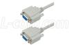 Deluxe Null Modem Reverser Cable, DB9 Female / Female, 5 ft -- CSNULL9FF-5