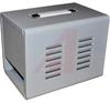 Portacab; Aluminum; 9 in.; 8.125 in.; 12 in.; Metallic Gray; Panel Mount -- 70149046