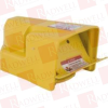 FOOT SWITCH SPDT YELLOW MOMENTARY ACTION -- 9002AW117