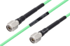 Temperature Conditioned TNC Male to TNC Male Low Loss Cable 72 Inch Length Using PE-P142LL Coax -- PE3M0159-72 -Image