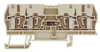 Feed Through with Diode Circuit Terminal Blocks -- ZDU 2.5/2x2AN/D+