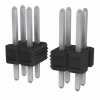 Rectangular Connectors - Headers, Male Pins -- 75844-318-34-ND -Image