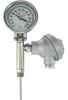 Bimetal Thermometer with Transmitter Output -- Series BTO