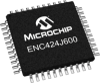 Ethernet Interface, Ethernet Controllers -- ENC424J600 - Image