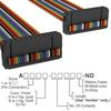 Rectangular Cable Assemblies -- A3BBB-2406M-ND -Image