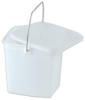Square Pails With Lids -- 81112