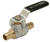 XL Brass, PEX barb x barb, Full Port Ball Valve -- QQBV33GX -Image