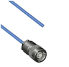 TRS SUBMINIATURE 3-SLOT SOLDER/CLAMP PLUG TO BLUNT 30-02003 .150 O.D. CABLE -- MP-2456-36 -Image