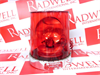 FEDERAL SIGNAL 121A-012R ( ROTATING WARNING LIGHT 3.0AMP 12VC 60/FRM RED )