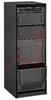 Black Texture Economizer Cabinet Rack, 61 1/4