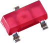 SOT 23 RED SMD LED -- AM23ID-F