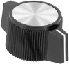 DOUBLE BAR KNOB, 6.35MM -- 95F7008